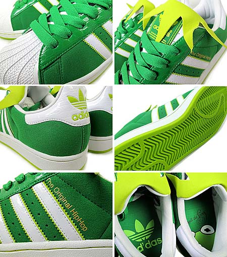 adidas SUPERSTAR 2 [The Muppets Kermit] G49999 写真1