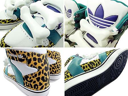 adidas ObyO JEREMY SCOTT BONES [WHITE/COLAQU] G50690 写真1