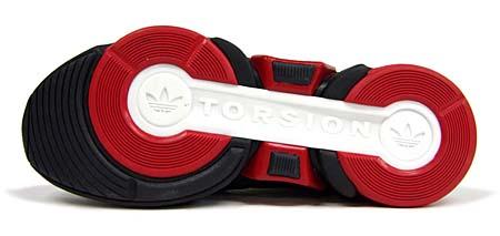 adidas JEREMY SCOTT adiMEGA TORSION [BLACK/RED] G50728 写真1