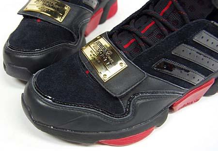 adidas JEREMY SCOTT adiMEGA TORSION [BLACK/RED] G50728 写真2