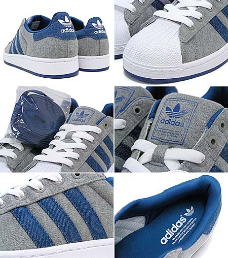 adidas SUPER STAR 2 [GREY/DENIM/WHITE] G50967 写真1