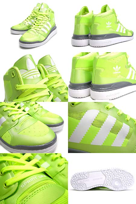 adidas FRM MID CRAZYLIGHT [ELECTR/WHITE/MLEAD] G51707 写真1
