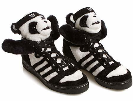 adidas JS PANDA BEAR [BLACK/WHITE] U42612 写真1