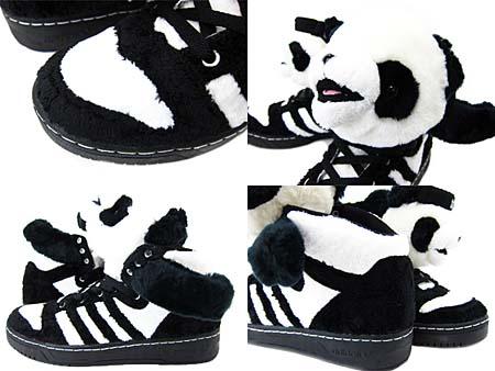 adidas JS PANDA BEAR [BLACK/WHITE] U42612 写真2