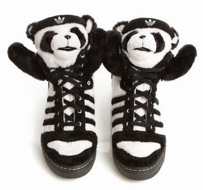 adidas JS PANDA BEAR [BLACK/WHITE] U42612