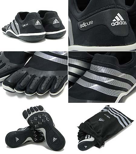 adidas ADIPURE TRAINER M S1 [Black/Silver/Black] V20554 写真1