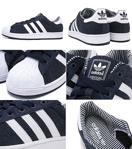 adidas SUPER STAR 2 [DARK INDIGO/WHITE] V22965 写真1