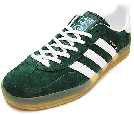 adidas GAZELLE INDOOR [FOREST/WHITE/GUM] v24909 写真1
