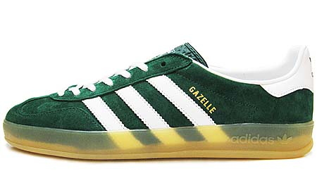 adidas GAZELLE INDOOR [FOREST/WHITE/GUM] v24909