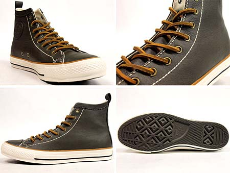 CONVERSE LEATHER ALL STAR VW HI [BROWN] 32046969 写真1