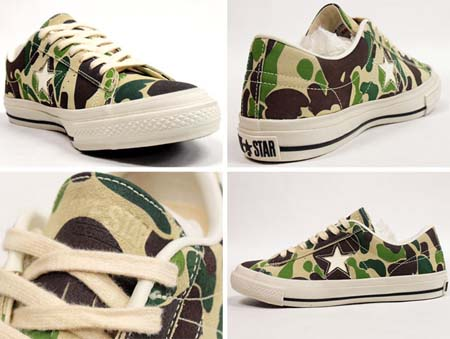 CONVERSE ONE STAR 83-CAMO OX 32350104  写真1
