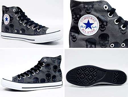 CONVERSE ALL STAR DA HI [SKULL] 32660641 写真1