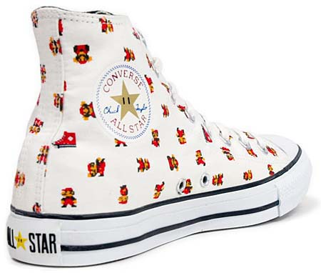 CONVERSE ALL STAR SUPER MARIO BROS. PS HI [WHITE] 32660700