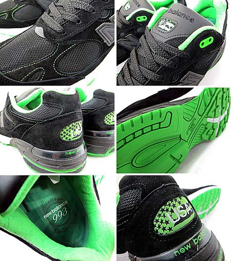 new balance MR993 BG [GREEN LANTERN] MR993 BG 写真2