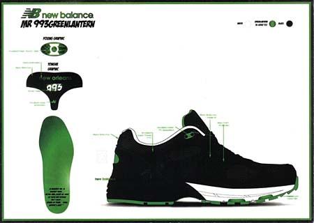 new balance MR993 BG [GREEN LANTERN] MR993 BG 写真3