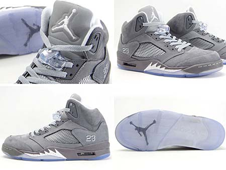 NIKE AIR JORDAN 5 RETRO [WOLF GREY] 136027-005