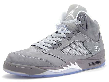 NIKE NIKE AIR JORDAN 5 RETRO [WOLF GREY] 136027-005 画像