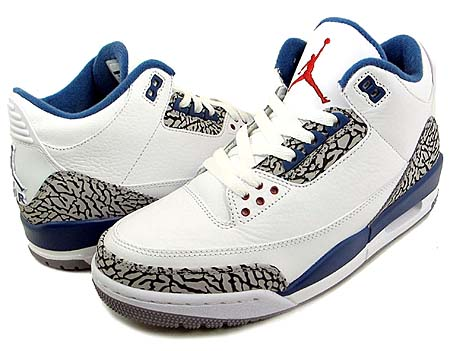 NIKE AIR JORDAN 3 RETRO [WIZARDS] 136064-104