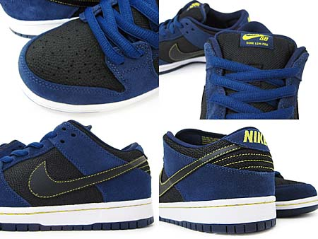 NIKE DUNK LOW PRO SB [MIDNIGHT NAVY/BLACK] 304292-408