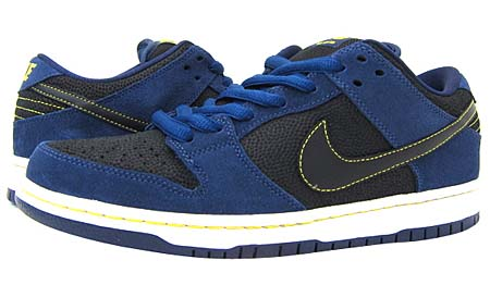 NIKE NIKE DUNK LOW PRO SB [MIDNIGHT NAVY/BLACK] 304292-408 画像