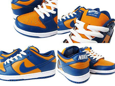 NIKE DUNK LOW PRO SB [SUNSET/FRENCH BLUE] 304292-704