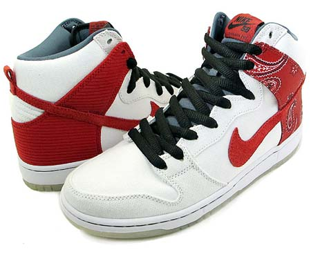 NIKE NIKE DUNK HI PRO SB [Cheech & Chong Up In Smoke] 305050-100 画像