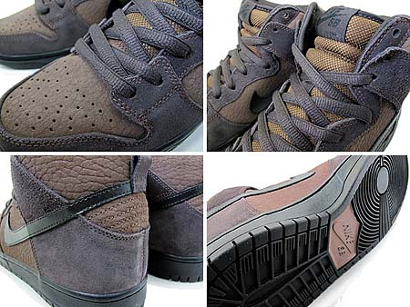 NIKE DUNK HIGH PRO SB [DARK OAK/BLACK] 305050-203