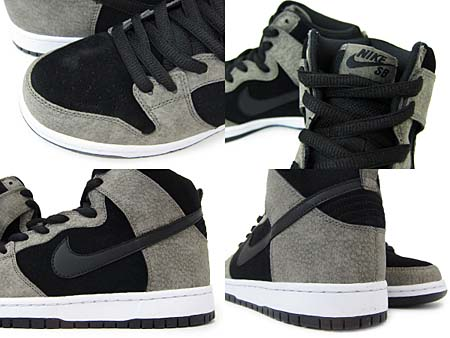 NIKE DUNK HI PREMIUM SB [CLAY/BLACK/WHITE] 305050-204