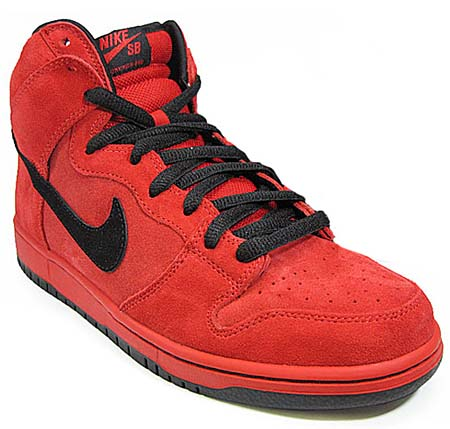 NIKE NIKE DUNK HIGH PRO SB [RED DEVIL] 305050-600 画像