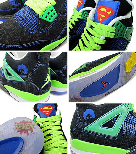 NIKE AIR JORDAN 4 RETRO DB [Doernbecher Charity Pack 2011] 308497-015