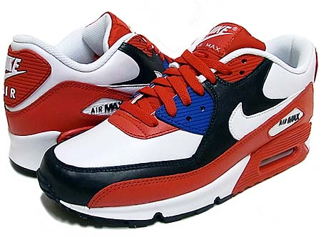 NIKE NIKE AIR MAX 90 [SPORT RED/WHITE-DARK OBSIDIAN] 309299-602 画像