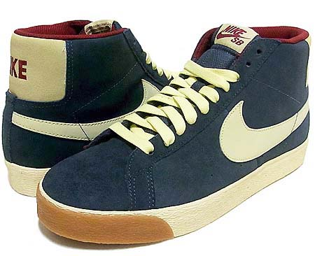 NIKE NIKE BLAZER SB [CHARCOAL/HALO/TEAM RED] 310801-013 画像
