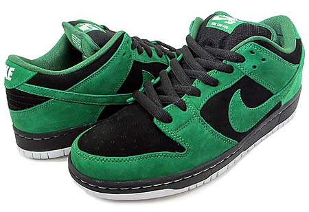 NIKE NIKE DUNK LOW PRO SB [BLACK/PINE GREEN] 313170-012 画像