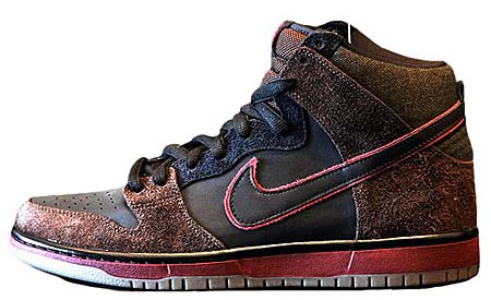 NIKE NIKE DUNK HI PREMIUM SB [REIGN IN BLOOD by BROOKLYN PROJECTS] 313171-013 画像