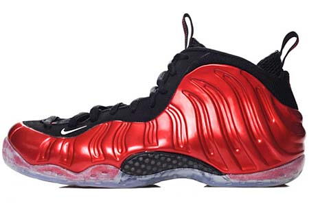 NIKE NIKE AIR FOAMPOSITE ONE LE [VARSITY RED/WHITE-BLACK] 314996-610 画像