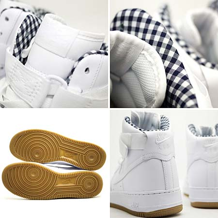 NIKE AIR FORCE 1 HIGH [WHITE/WHITE-BLACK] 315121-106