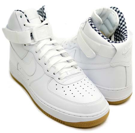 NIKE NIKE AIR FORCE 1 HIGH [WHITE/WHITE-BLACK] 315121-106 画像