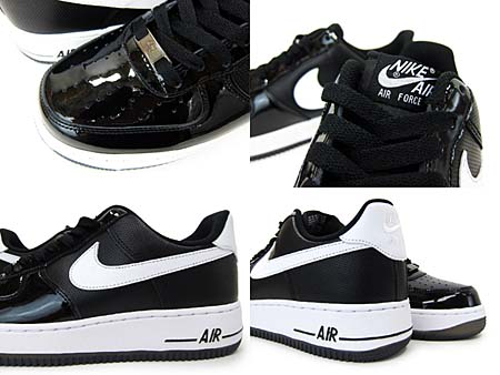 NIKE AIR FORCE 1 LOW [BLACK/WHITE-BLACK] 315122-047