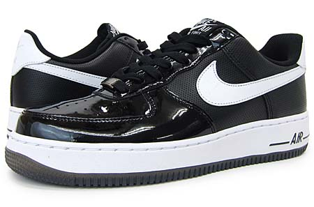 NIKE NIKE AIR FORCE 1 LOW [BLACK/WHITE-BLACK] 315122-047 画像
