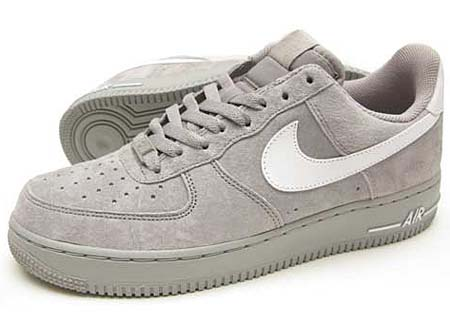 NIKE AIR FORCE 1 LOW [MEDIUM GREY/WHITE] 315122-058
