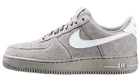 NIKE NIKE AIR FORCE 1 LOW [MEDIUM GREY/WHITE] 315122-058 画像