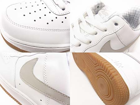 NIKE AIR FORCE 1 LOW [WHITE/TECH GRAY] 315122-169