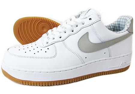 NIKE NIKE AIR FORCE 1 LOW [WHITE/TECH GRAY] 315122-169 画像