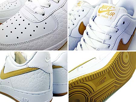 NIKE AIR FORCE 1 LOW [WHITE/HONEYCOMB] 315122-178