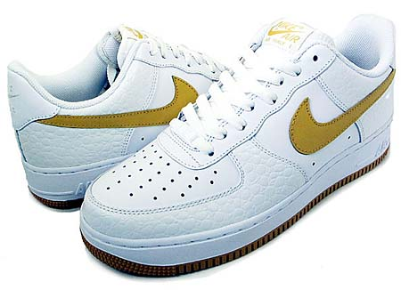 NIKE NIKE AIR FORCE 1 LOW [WHITE/HONEYCOMB] 315122-178 画像