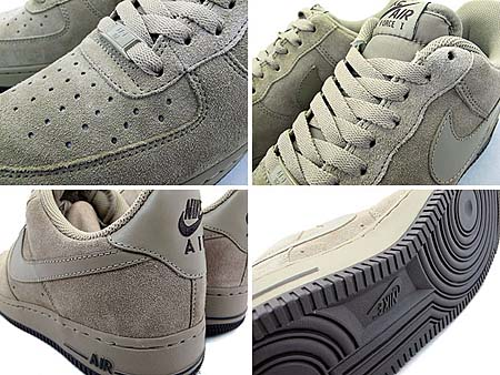 NIKE AIR FORCE 1 LOW [KHAKI/KHAKI-DARK CINDER] 315122-204