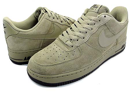 NIKE NIKE AIR FORCE 1 LOW [KHAKI/KHAKI-DARK CINDER] 315122-204 画像