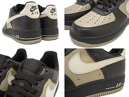 NIKE AIR FORCE 1 LOW 07 [VELVET BROWN/BIRCH/KHAKI] 315122-209