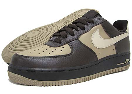 NIKE NIKE AIR FORCE 1 LOW 07 [VELVET BROWN/BIRCH/KHAKI] 315122-209 画像