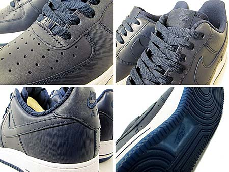 NIKE AIR FORCE 1 LOW 07 [OBSIDIAN/OBSIDIAN-WHITE] 315122-406